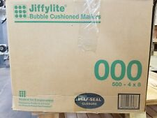 JIFFYLITE BUBBLE CUSHIONED MAILERS  4 X 8 - BOX OF 500 !!!