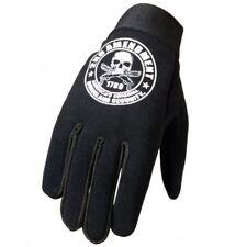 Hot Leathers Mens 2nd Amendment Skull Biker Riding Black Mechanic Gloves