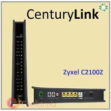 CenturyLink ZyXEL C2100Z DSL Wireless 802.11AC VDSL Modem WiFi Router - FULL SET