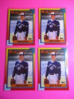 LOT(4) 1990 Topps Traded 83T John Olerud Rookie (MINT to GEM MINT) Sharp