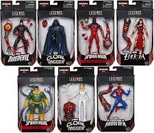 Amazing Spider-Man Marvel Legends Wave 8 Action Figures Set SP dr BAF Box Damage