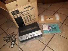 RADIO SHACK Realistic Universal 333 Reel To Reel Player COMPLETE W ORIGINAL BOX