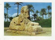 Giza The Sphinx Of Sakkara Egypt Postcard 606a