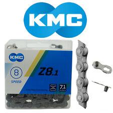 """KMC Z8.1 Bike Chain 5 6 7 8 Speed 3/32"""" Link fit Z51 Shimano SRAM"""