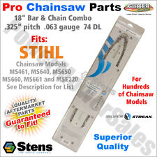 """18"""" Bar & Chain for Stihl Chainsaws MS461, MS640, MS650, MS660, MS661 and MSE220"""