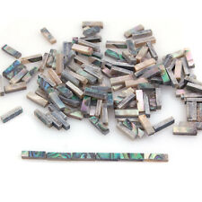 60pcs Abalone Binding Inlay Strips for Guitar Mandolin Maker 1.5mm x 2mm x 7mm