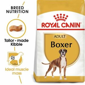 Boxer Adult Dry Dog Food Royal Canin Complete High Quality Kibble Protein
