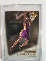2000-01 Upper Deck Ovation Superstar Theatre Kobe Bryant #S1, **MINT LA Lakers