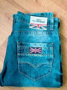 Men's John Richmond Denim Jeans. Size 32