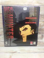 *RARE* Neo Hunter (PC) Windows 95/DOS - Bix Box Ships Free (c2)