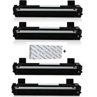 4x Toner kompatibel für Brother HL-1110, 1110 E, 1110 R, 1112, 1112 A + Papier