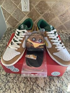 Vandy The Pink Burger Dunk Shoes Size 11 Brand New - SHIPS FAST!
