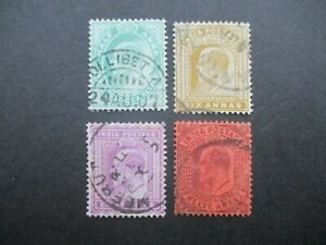 British Commonwealth Stamps: Set Used  -  RARE   -  (h191)