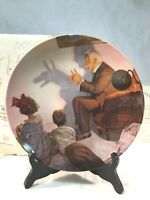 "Vintage The Bradford Exchange 1987 ""The Shadow Artist"" Collector's Plate, NIB"