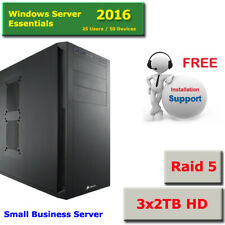 Microsoft Windows Server 2016 Essentials 3x2Tb Raid 5 -Setup Help (En6d3x2i3A16)
