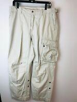Polo Ralph Lauren Cargo Pants Men's Vintage 36 X 30 Flight Military Utility