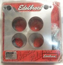 Edelbrock 2696 Carb Adapter Kit for Spread Bore to Square Bore 4150 Holley