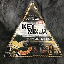 HOT ninja Key Chain 3 in1 SMART confuso Keys Holder APRIBOTTIGLIE LED EDC Carino