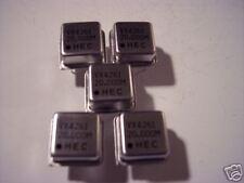 HEC 20.000 MHz crystal oscillator  5 pieces