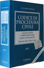 CONSOLO Codice di procedura civile CEDAM 2007