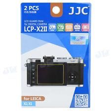 JJC LCD Guard Camera Screen Display Hard Coating Protector For LEICA X2 X1 X-E