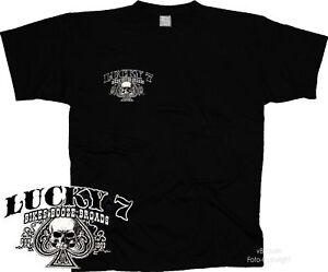 T-Shirt Custombike Bobber Rider Oldschool Harley Chopper 4240 Bl