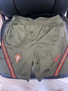 Nike Portugal Player Issue Training Shorts Size Large Euro 2020