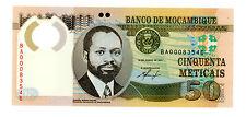 Mozambique … P-150 … 50 Meticais … 2011 … *UNC*