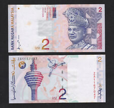 Malaysia 2 Ringgit RM2 (1996) P40a ZA Replacement banknote UNC Foxing