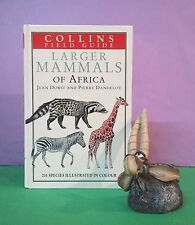 J Dorst: Larger Mammals of Africa (Collins Field Guide) mammals/Africa/reference