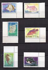 Guinée 1980 poisson Y&T série N°659 à 670 12 timbres neufs sans charnière /T3706