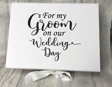 Large Groom To Be Gift Box A4 Deep / Groom Box/ Wedding Box