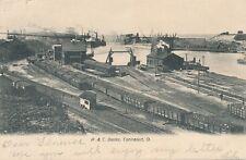 CONNEAUT OH – P. & C. Docks – udb – 1907