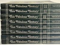 This Fabulous Century 1870-1970 Complete Set of 8 Hardcover Time Life Books