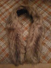 "TOPSHOP Faux Fur Stole Wrap Collar Scarf ""PEAKY BLINDERS"" 20's 30s 40s En-Trend"