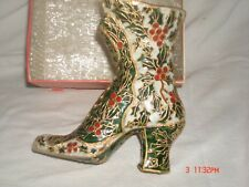 Cloisonne Large Holly Boot
