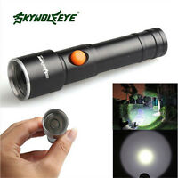 Mini 50000LM T6 LED Flashlight Torch Lamp Focus 1Mode Camp Hiking Outdoor Light