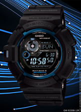 Casio G-SHOCK MUDMAN GW9330B-1 30th Anniversary Limited Edition Very Rare Watch