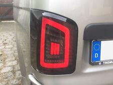 VW T5 FLÜGELTÜRER 03-15 schwarze LED Rückleuchten DYNAMISCHER BLINKER rote LB