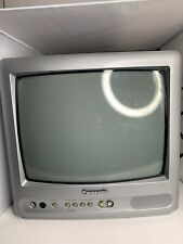 """Panasonic 13"""" Color Television CT-13R38S (silver cabinet)"""