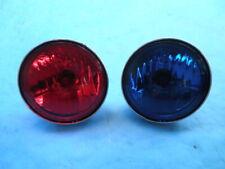 HARLEY DAVIDSON TOURING ROAD KING FLHTP POLICE BLUE RED SPOT LIGHT PASSING LAMPS