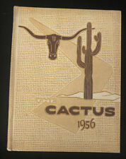 1956 Cactus Yearbook, University of Texas at Austin, Good Condition