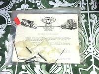 Vintage McAllister Racing Oval Lowering Kit Team Associated RC10 RC-10  Graphite