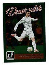 2016-17 Panini Donruss Dominator Green Card :Cristiano Ronaldo #22 (SH10)