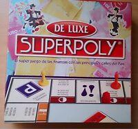SUPERPOLY DE LUXE EURO - Falomir Juegos - Juego de mesa - ( Monopoly )