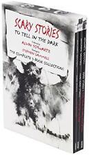 Scary Stories To Tell In The Dark Box Set Of 3 Books Alvin Schwartz Halloween