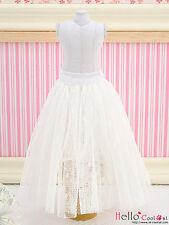 ☆╮Cool Cat╭☆197.【PS-06】Blythe Pullip Long Tulle Ball Skirt (Dot) # White