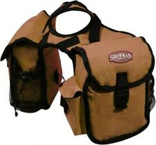 Showman BROWN Cordura Nylon Western Saddle Insulated Horn Bags! NEW HORSE TACK!!