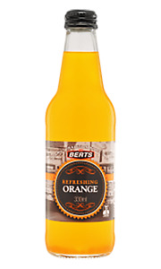 Berts Softdrinks Orange Pet Bottles 300ml x 24