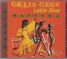 "Celia Cruz 'Latin Diva"" NEW & SEALED REMASTERED CD *Original Seeco Recordings*"